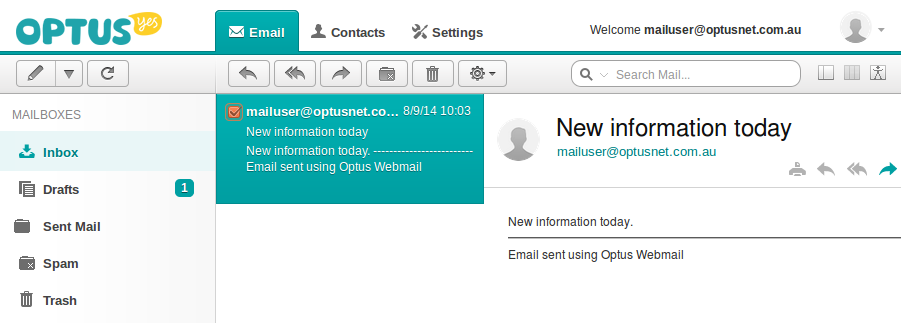 Setup OptusNet Email on Your iOS Device
